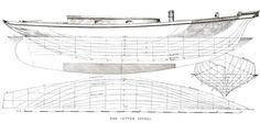 lines_of_cutter_Petrel - Boat Design Net Gallery