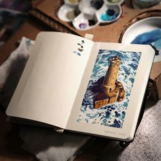 :Illustration:Gallery:Concept: by JAW Cooper: Plein Air and Sketch Dump!