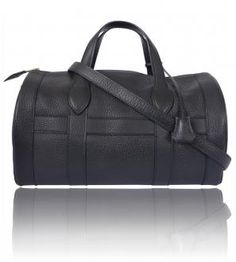 Hermès Black Ardennes Rd Boston Bag