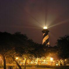 St Augustine, FL night view
