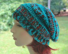Slouchy Spring Fall Winter Beanie Beret Toque by SweetnessInSmyrna