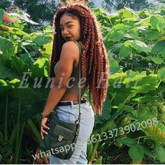Curly Jumbo Twists Hair African Braiding Hair Extensions Sexy Synthetic Havana Mambo Twist Burgundy Wavy Braids For Long Hair