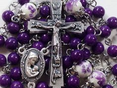 Our Lady & Baby Jesus Gemstone Rosary