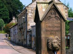 The Village of Hartington in Derbyshire by UGArdener on Flickr