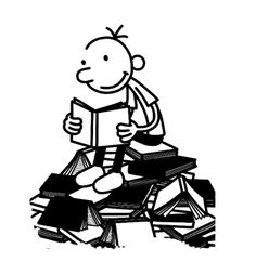 To Find Out More About Entering The Competition, Visit - Wimpy Kid Reading { - Free Cliparts on ClipartWiki Library Posters, Reading Posters, Wimpy Kid Books, Children's Book Characters, Yearbook Covers, Reading Projects, Grunge Guys, Library Activities, Kids Class