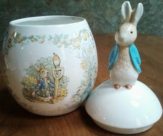 Beatrix Potter Cookie Jar by maryberard on Etsy