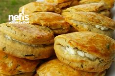 Delicious Pastry with Dill – Emine Nefis Dereotlu Poğaça Delicious Pastry with Dill Delicious Cake Recipes, Yummy Cakes, Yummy Food, Turkish Recipes, Mexican Food Recipes, Pastry Recipes, Snacks, Relleno, Vegetable Recipes