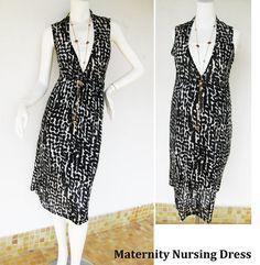 Maternity Dress / Nursing Dress Breastfeeding dress / Nursing
