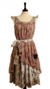Kleid Bouvard - Rosa von Ian Mosh a bit mori style