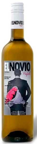 Vino blanco El Novio Perfecto. Disevil Vinos Valencia, Vodka Bottle, Perfect Boyfriend, White Wine, Wine, Ale