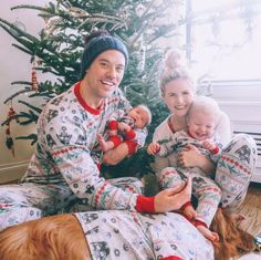 We wish you a merry Christmas! Cute family outfit for Christmas holidays.