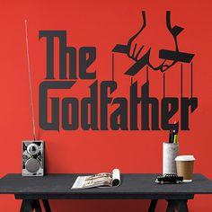 Vinilos Decorativos: The Godfather #elpadrino #padrino #godfather Blues Brothers, Pulp Fiction, The Godfather, Art Prints, Ideas, Home Decor, Showers, Tv Series, Vinyls