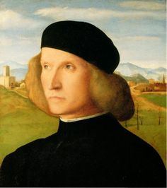 Giovanni Bellini, Portrait of a young man (1505), Windsor, Royal Collection