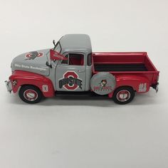 Danbury Mint Ohio State Buckeyes Diecast 1953 Chevy Pickup Truck Box Accessories | eBay