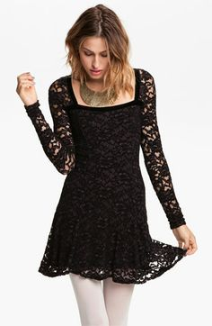 free people flirt lace dress