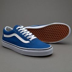 9cf330dc34f21b Vans Old Skool Canvas True Blue Men s Classic Skate Shoes Size 9.5 Tenis