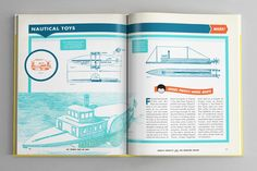 Popular Mechanics on Editorial Design Served
