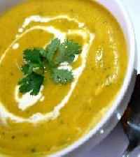 How to make an easy Spiced  Pumpkin Soup Video