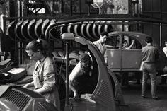 Paris 1959  2 CV Production