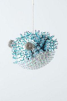 Spangled Sea Puffer | Christmas decor  My new obsession: Anthropologie.eu!