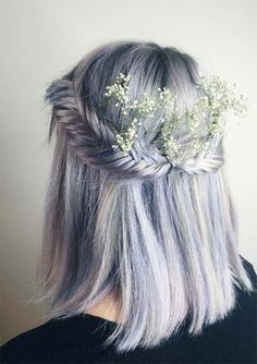 100 Ridiculously Awesome Braided Hairstyles: Fishtail Crown Braids