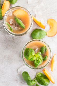 Basil Peach Agua Fre