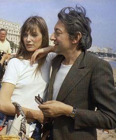 Serge Gainsbourg & Jane Birkin, 1960's