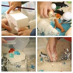 Kids will love making this Icy Activity bin with their friends. Jackie shows us how!