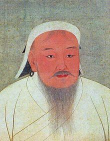born Temujin, Beyond his military accomplishments, Genghis Khan also advanced the Mongol Empire in other ways. He decreed the adoption of the Uyghur script as the Mongol Empire's writing system. He also practiced meritocracy and encouraged religious tolerance in the Mongol Empire while unifying the nomadic tribes of northeast Asia. Present-day Mongolians regard him as the founding father of Mongolia.