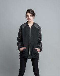 Bomber Jacket for Women by Buffet Clothing