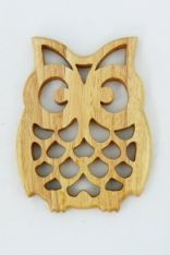 Sottopentola Gufo rubber wood Scroll Saw Patterns, Dremel, Fair Trade, Coasters, Africa, Carving, Stone Crafts, Home, Coaster