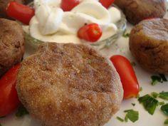 ΜΑΓΕΙΡΙΚΗ ΚΑΙ ΣΥΝΤΑΓΕΣ: Κεφτεδάκια με φέτα και μελιτζάνα!! Υπέροχο ορεκτικό μεζεδάκι !! Muffin, Breakfast, Ethnic Recipes, Food, Cooking Food, Morning Coffee, Eten, Cupcakes, Muffins