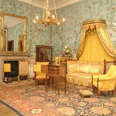 Belvoir Castle - magnificent rooms where the Duke of Wellington stayed.