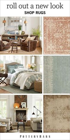Tie all the features of a room together with a decorative rug. No matter what size, color, material or pile thickness you're looking for, at Pottery Barn, we have all rugs covered. Shop the collection today.