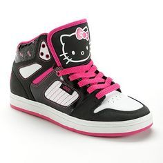 e56686b1d4 Vans Allred Hello Kitty High-Top Skate Shoes - Women. Hello I want!