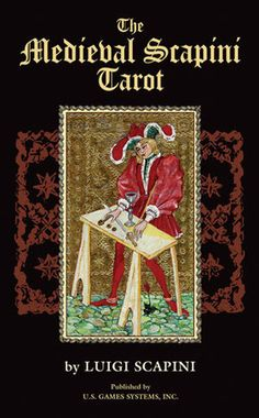 Medieval Scapini Tarot by Luigi Scapini, available at Book Depository with free delivery worldwide. Luigi, Book Annotation, Tarot Card Decks, Italian Artist, Illuminated Manuscript, Deck Of Cards, Ancient Art, Middle Ages, Artwork
