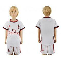 AC Milan Dětské Venkovní dres komplet 17-18 Krátký Rukáv