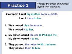 Resultado de imagen para object pronouns