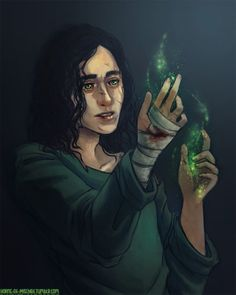 It is the age of miracles.Portrait of Loki for Anon, drawn from this scene.