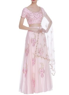 Shop Roora by Ritam Dreamcatcher motif embroidered lehenga set , Exclusive Indian Designer Latest Collections Available at Aza Fashions Pink Parties, Lehenga Choli, Saree, Young Fashion, Indian Fashion, Party Wear, Designer Dresses, Evening Dresses, Two Piece Skirt Set