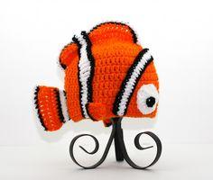 Handmade Nemo Hat / Beanie from DisneyPixars Finding Nemo
