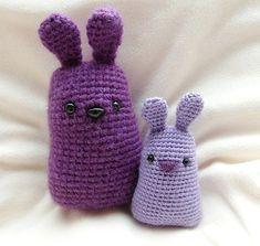 Purple Bunnies Crochet Pattern