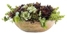 succulent planter decor dining table - Google Search