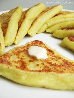 Irish potato cakes  - scroll down for English   Uwaga, będzie pouczenie. Ziemniaki są na drugim miejscu w rankingu najczęściej marnowanych ... Appetizer Recipes, Snack Recipes, Dinner Recipes, Cooking Recipes, Crepes And Waffles, Potato Cakes, English Food, Polish Recipes, Potato Recipes