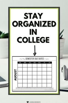 College Student Gifts, Scholarships For College, College Students, College Schedule, College Planner, Student Planner Printable, Academic Planner, Star Students, New Students