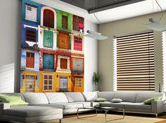 30.00$  Watch now - http://alio98.shopchina.info/1/go.php?t=32568206292 - Custom photo wallpaper, Doors Cartagena, Colombia mural for living room bedroom TV backdrop waterproof wallpaper 30.00$ #buyonlinewebsite