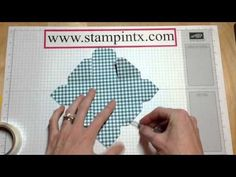 How to Create a Cute Little Easter Basket using the Envelope Punch Board - YouTube