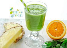 Turmix/Ital - MissGreen Miss Green, Healthy Drinks, Cantaloupe, Smoothies, Pudding, Fruit, Desserts, Food, Flan