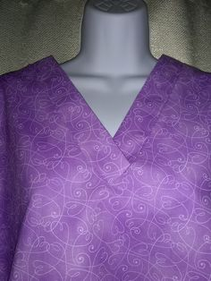 Added more colors today to this scrub. $40 and FREE SHIPPING. S-XXL.    www.etsy.com/shop/JudisScrubs Custom Scrubs, Medical Scrubs, Scrub Tops, Swirls, Free Shipping, Purple, Colors, Etsy, Shopping