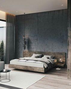 50 Amazing Industrial Master Bedroom Design Ideas is part of Modern bedroom decor - Modern Master Bedroom, Modern Bedroom Decor, Master Bedroom Design, Contemporary Bedroom, Master Bedrooms, Trendy Bedroom, Diy Bedroom, Bedroom Neutral, Master Suite